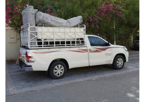 1 ton pickup for rent in international city phase 2