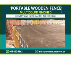 Portable Fence Uae | Swimming Pool Fences | White Picket Fences Uae.
