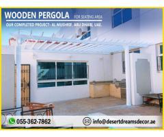 Wooden Swing Pergola | Wooden Pergola Abu Dhabi | Wooden Pergola Dubai.