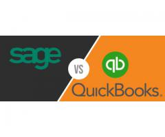 Quickbooks 2020 VS Sage 50 2020- Vat Accounting Software in UAE, Perfonec