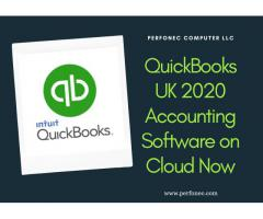 QuickBooks UK Pro Hosted in the Cloud- Quickbooks 2020, Perfonec