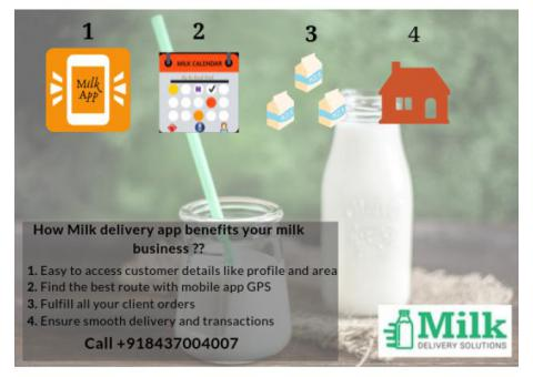 Online Milk Delivery App Solution