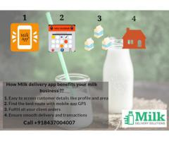Online Milk Delivery App Solution