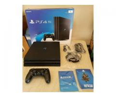 ps4 pro sony play-station 4-pro 1tb black console