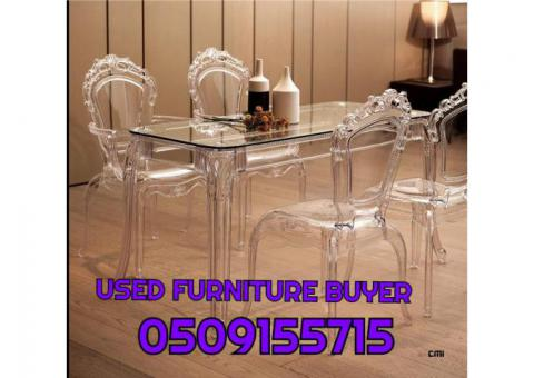 0509155715 USED FURNITURE BUYER AND HOME APPLIANCES IN UAE