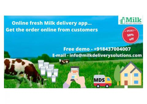 Milk Delivery App Development