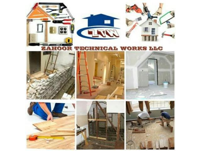 Complete Fit Out Projects, Renovation Services 052-5868078