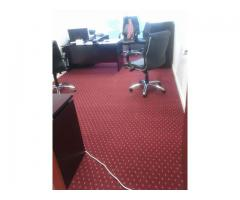 Supply and installation of tile carpet, roll carpet and Parquet flooring