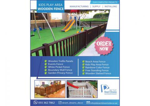 Large Area Wooden Fences Uae | Small Area Wooden Fences | Dubai.