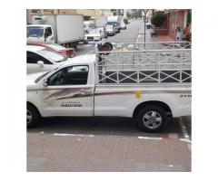 1ton pickup for rent in al barsha 0504210487