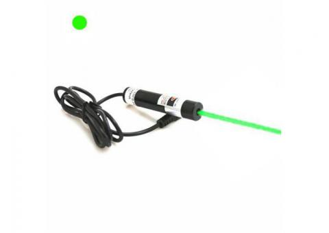 Continuous Aligning 100mW Green Dot Laser Module