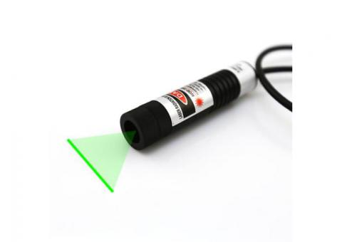 Different Fan Angles 50mW Green Line Laser Module