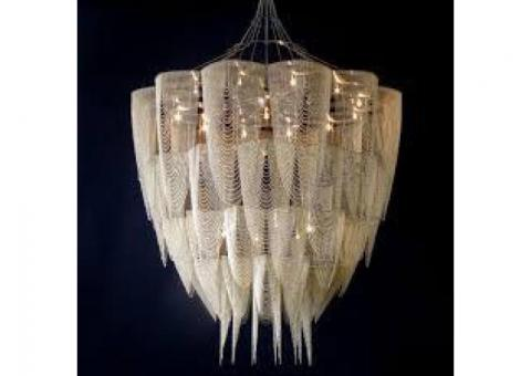 Heavy and High Chandelier Installation,  Chandelier cleaning, CALL 050 2097517