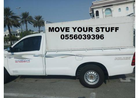 WE HAVE PICKUP TRUCK FOR MOVING SHIFTING 0556039396