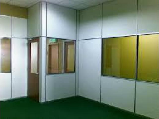 Room Partition, Office Designing, Gypsum Partition, Gypsum Ceiling ,  Call on 050 2097517