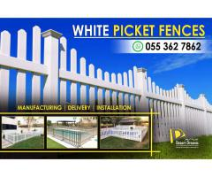 Events Fences Suppliers in Dubai | White Picket Fences | Swimming Pool Fences Uae.