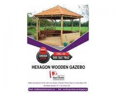 Teak Wood Gazebo | Malaysian Wood Gazebo Uae.