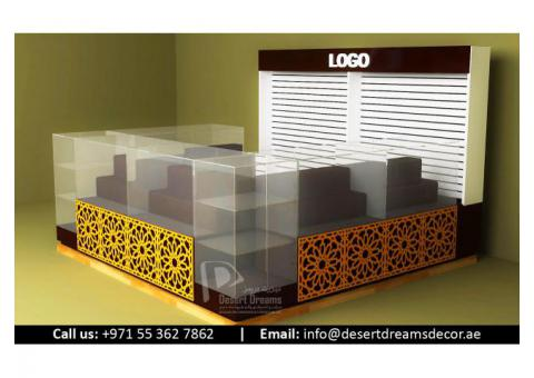 Kiosk and Mall Display Stands Suppliers in UAE.