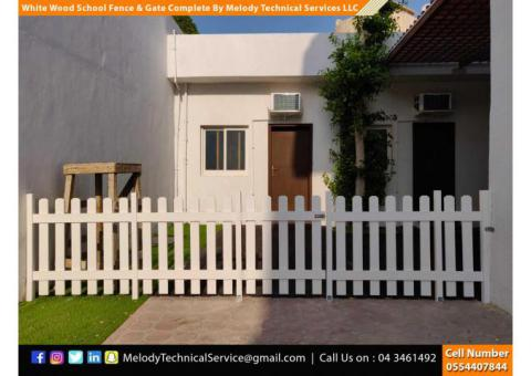 Natural Wooden Fence | WPC Fence in Dubai | Kids Privacy Fence Dubai