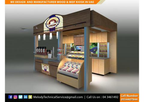 Abu Dhabi Mall Kiosk | Perfume Kiosk In Abu Dhabi | Wooden kiosk UAE