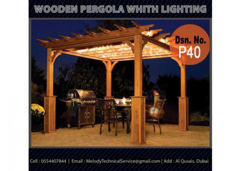 Garden Pergola Dubai | Outdoor Pergola Dubai | Wooden Pergola UAE