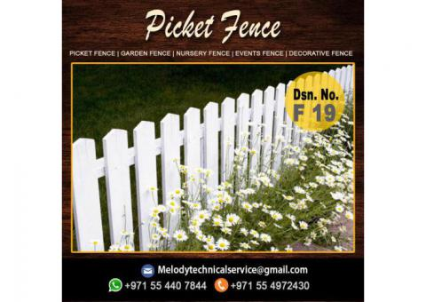 Wooden Fence Manufacturer And Suppliers in Abu Dhabi