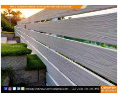 Wooden Fence Suppliers in Dubai