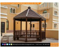 Wooden Gazebo Suppliers in Dubai, U.A.E