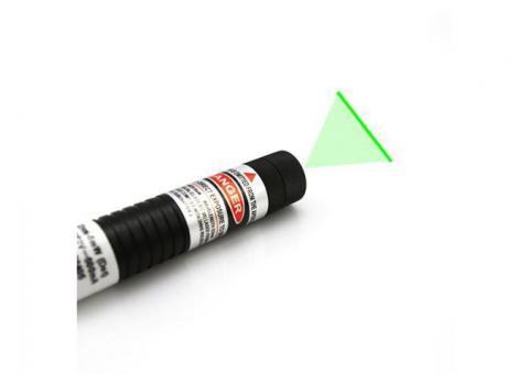 Long Line Length 110 Degree Lens Green Laser Line Generator