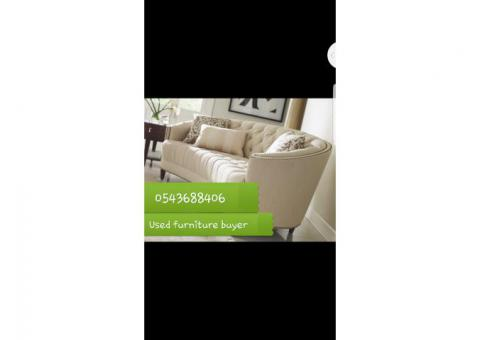 0543688406 I BUYER USED FURNITURE IN UAE