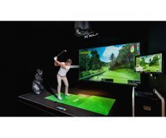 Best Golf Simulator | X-Golf  | Commercial Golf Simulator Dubai