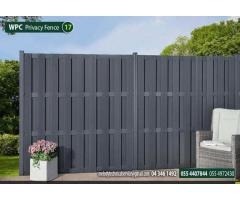 Composite Fence Suppliers Dubai | WPC Fence Manufacturer in Dubai