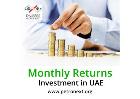 Monthly returns investment in uae