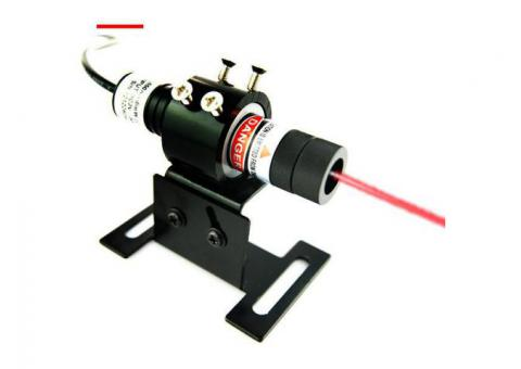 Berlinlasers Pro Red Line Laser Alignment with DC Power Supply