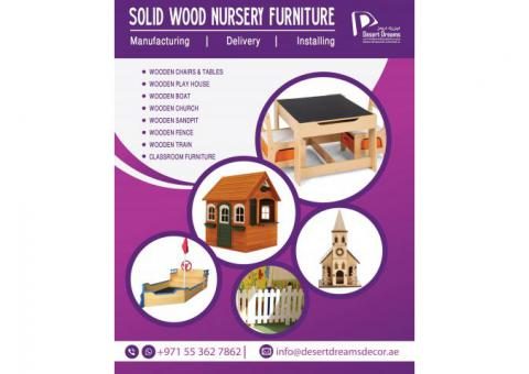 Nursery Wooden Furniture Manufacturer and Suppliers in UAE.