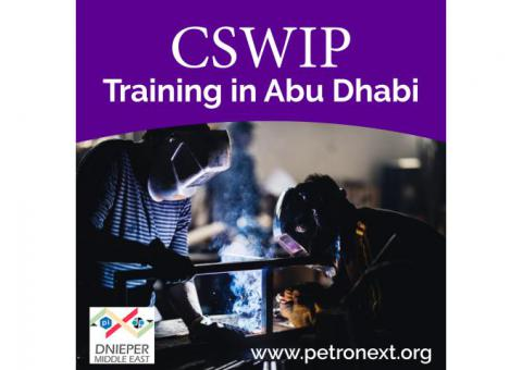 CSWIP Training in Abu Dhabi
