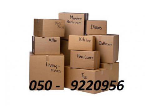 Dubai carton Boxes @ 050 9220956