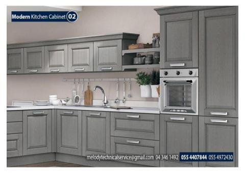 Kitchen Wooden Cabinets Suppliers in Dubai | Modern Kitchen Furniture in Dubai