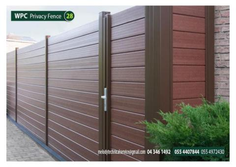 Composite Fence Manufacturer in UAE | WPC Fence Suppliers Dubai