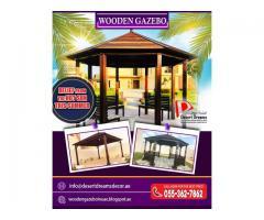 Large Seating Area Gazebo | Small Seating Area Gazebo | Wooden Gazebo Manufacturer in Uae.