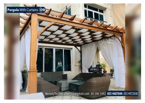 Free Stand Pergola in Dubai | Garden Pergola UAE | Wooden Pergola Dubai
