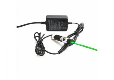 Berlinlasers 515nm 50mW Green Dot Laser Module