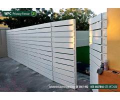 Composite Wood Fence in Abu Dhabi | Picket Fence Abu Dhabi | WPC Fence UAE