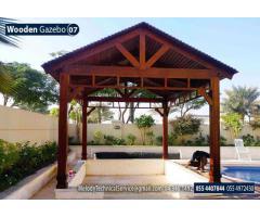 Garden Gazebo in Abu Dhabi | Wooden Gazebo Suppliers in Abu Dhabi