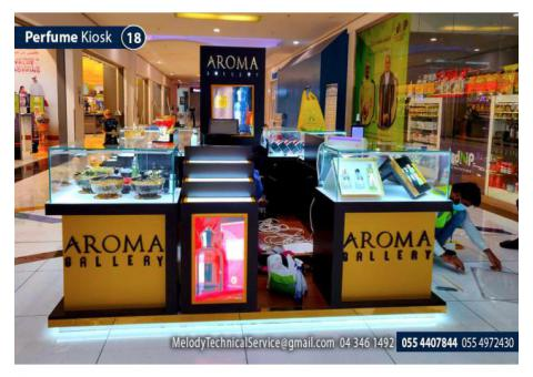 Abu Dhabi Mall Kiosk | Wooden kiosk Suppliers in Abu Dhabi