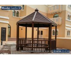 Garden Gazebo in Abu Dhabi | Wooden Gazebo | Gazebo Suppliers in UAE