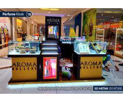 Dubai Perfume Kiosk | Dubai Mall kiosk | Wooden Kiosk Suppliers in Dubai