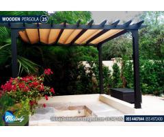 Pergola in Abu Dhabi | Wooden Pergola | Pergola Manufacturer UAE