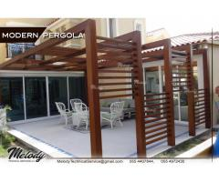 Modern Pergola In Dubai | Creative Wooden Pergola | Pergola Suppliers UAE