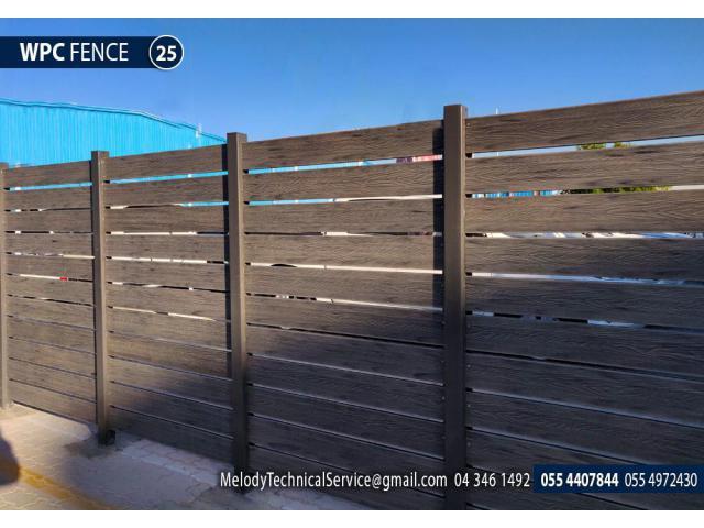 Garden Fencing in Dubai | Picket Fence Suppliers | Wooden Fence UAE